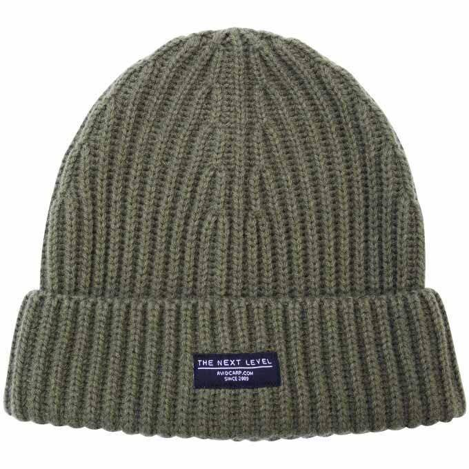 Шапка Avid Carp Beanie Hat Olive Green