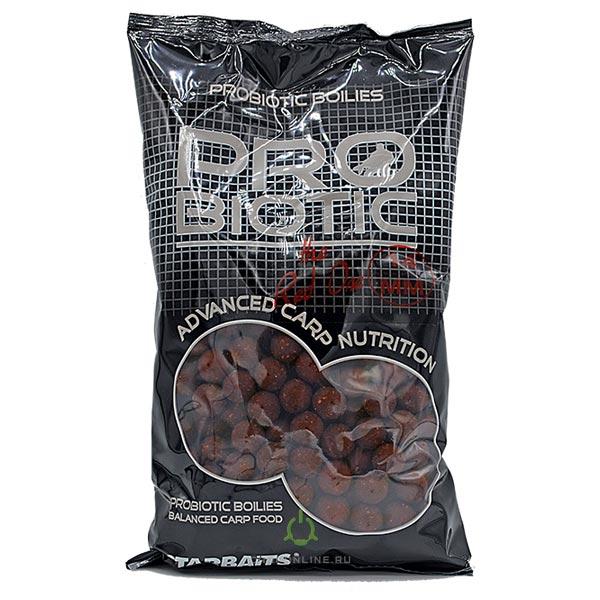 Бойлы тон. Starbaits Probiotic Red 14мм 1кг