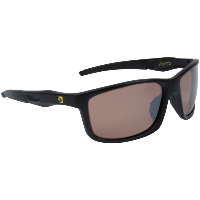 Очки с футляром Avid Carp Polarised Sunglasses Mocha Brown