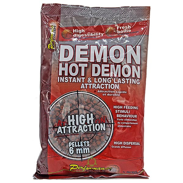 Пеллетс Starbaits Hot Demon 6 мм 700 гр.