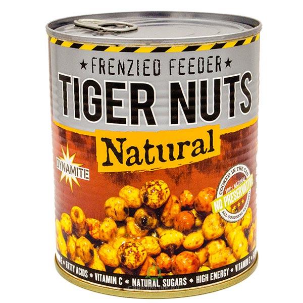 Тигровый орех консервированная приманка Dynamite Baits FRENZIED Tiger Nuts 830 гр.