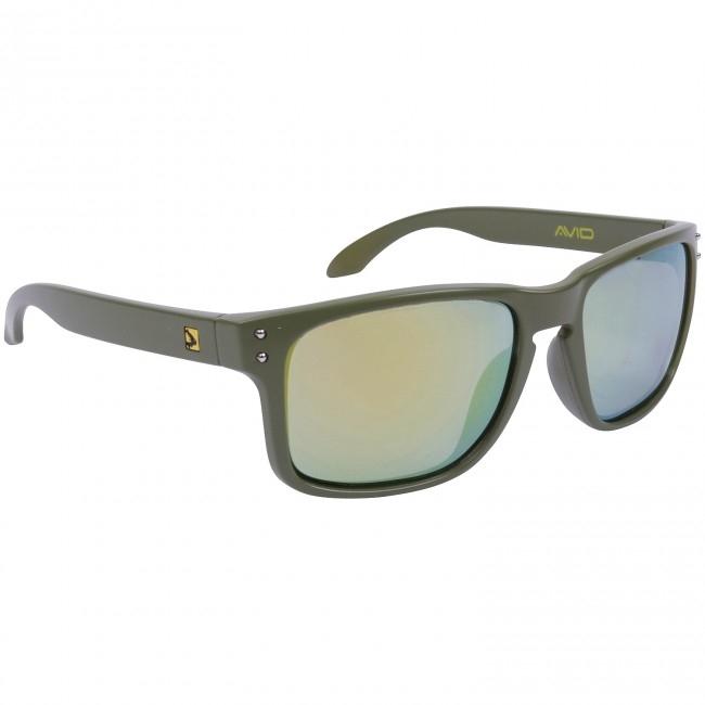 Очки с футляром Avid Carp Polarised Sunglasses Sage Revo