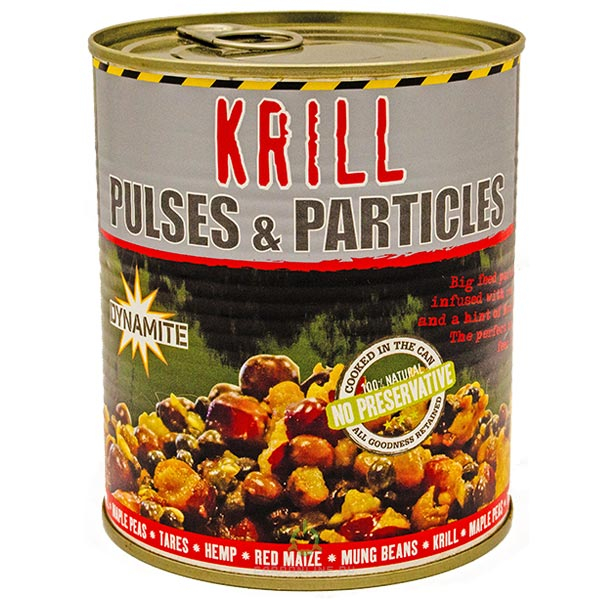 Смесь зерновых Dynamite Bait Frenzied Pulse Krill Parti-Mix 700гр.