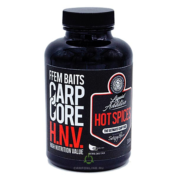 Ликвид FFEM Carp Carp Core HNV-Liquid Hot Spices
