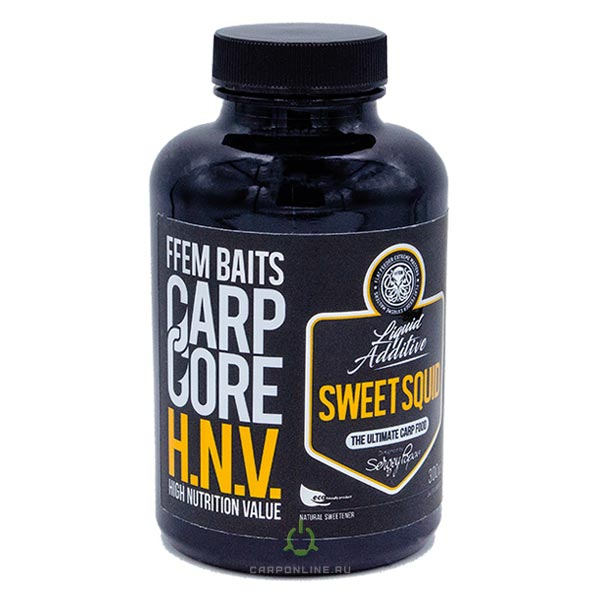 Ликвид FFEM Carp Carp Core HNV-Liquid Sweet Squid