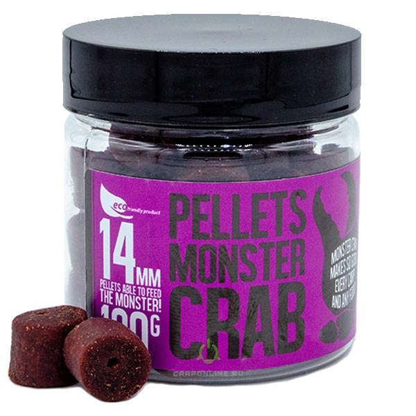 Пеллетс насадочный FFEM Hookbaits Pellets Monster Crab 14mm