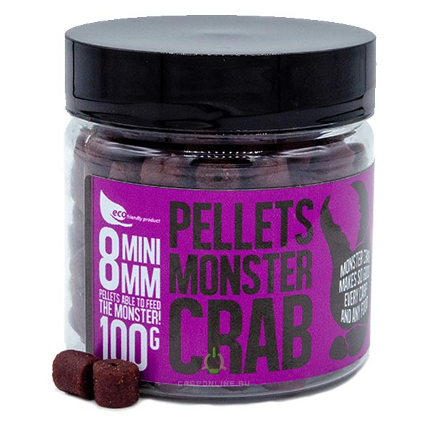 Пеллетс насадочный FFEM Hookbaits Pellets Monster Crab 8mm