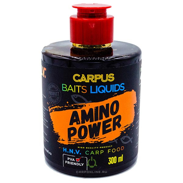 Ликвид CARPUS baits AMINO POWER (аминокомплекс) 300 мл