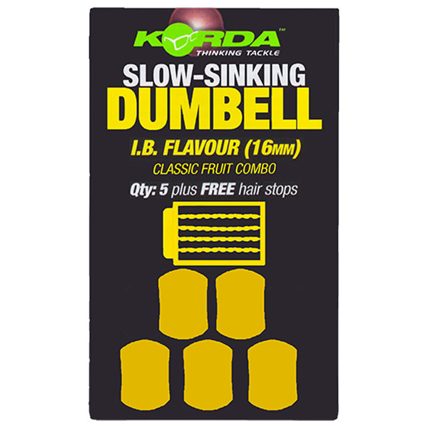 Имитационная приманка Korda Dumbell Slow Sinking IB 16 мм.