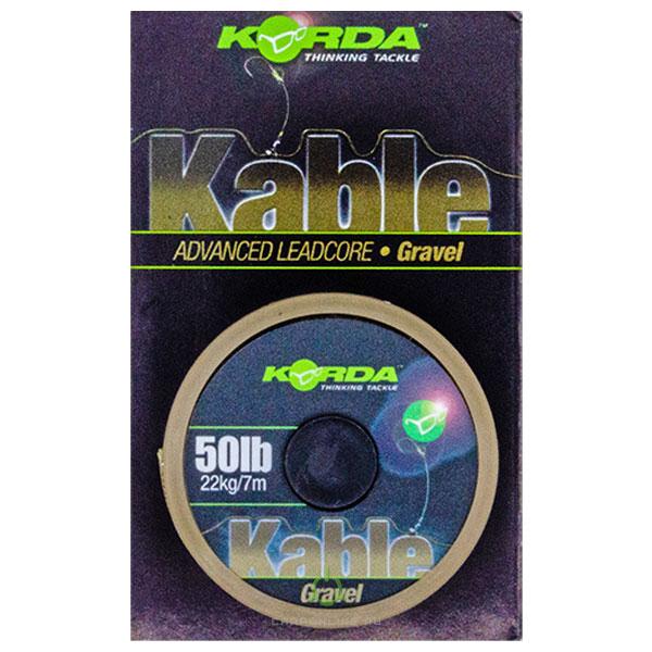 Ледкор Korda Kable Leadcore 7м Gravel