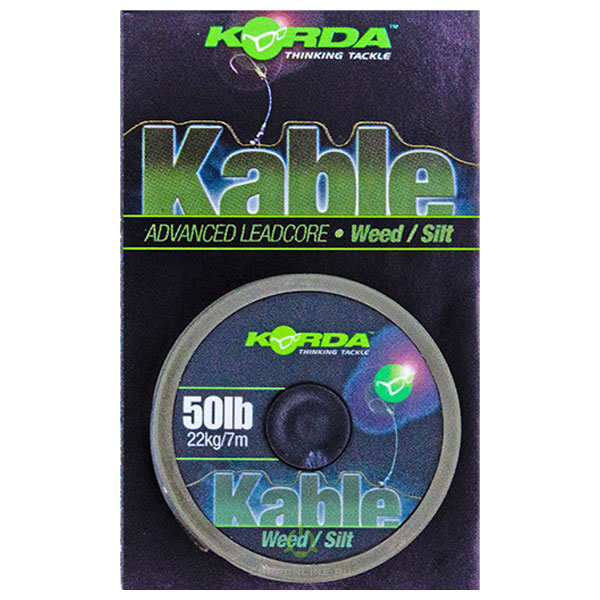 Ледкор Korda Kable Leadcore Weed 7 м.