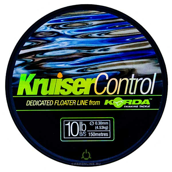 Леска плавающая Korda Kruiser Control Line 0,30mm 150m 10lb