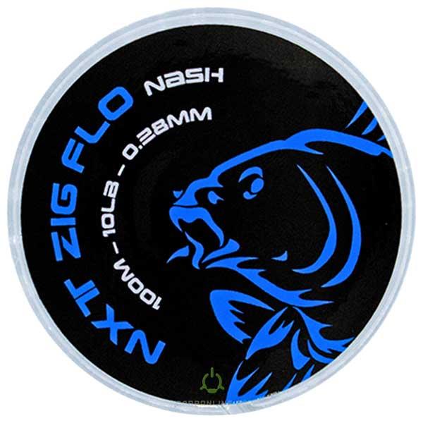 Поводковый материал Nash NXT Zig Flo 10lb 100 м.
