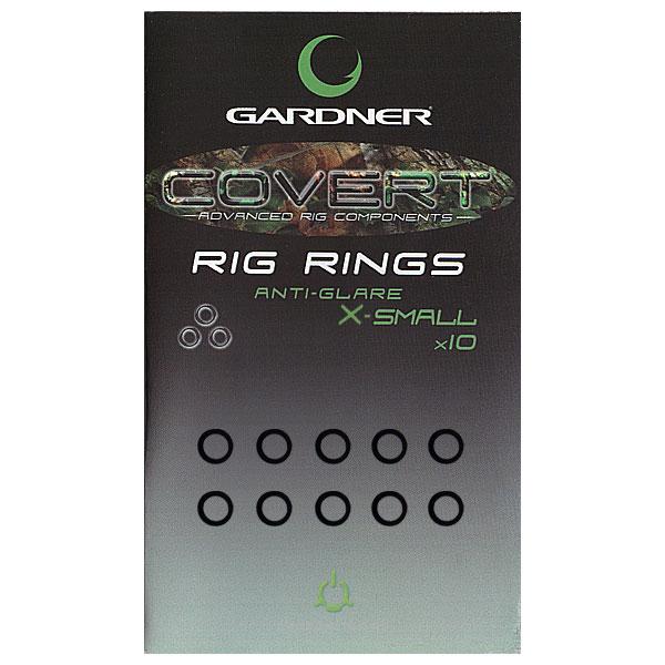 Кольцо для крючка Gardner Covert Rig Rings Extra Small Anti Glare 2,5 мм.