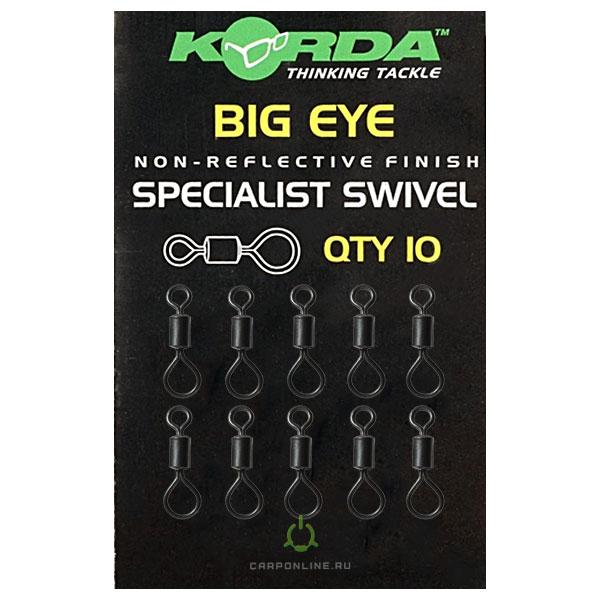 Вертлюг Korda Big Eye Swivels