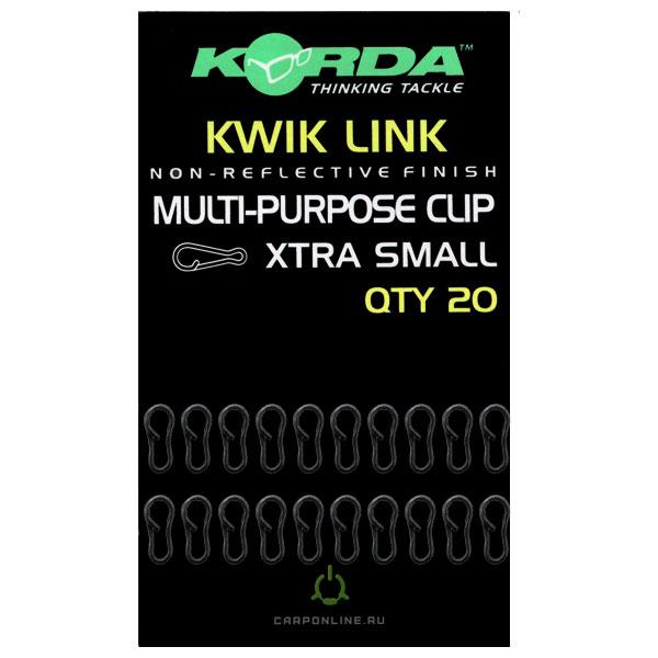 Застежка для грузов Korda Kwick Link Extra Small