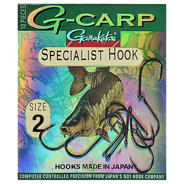 Крючки GAMAKATSU Hook G-CARP Specialist № 2