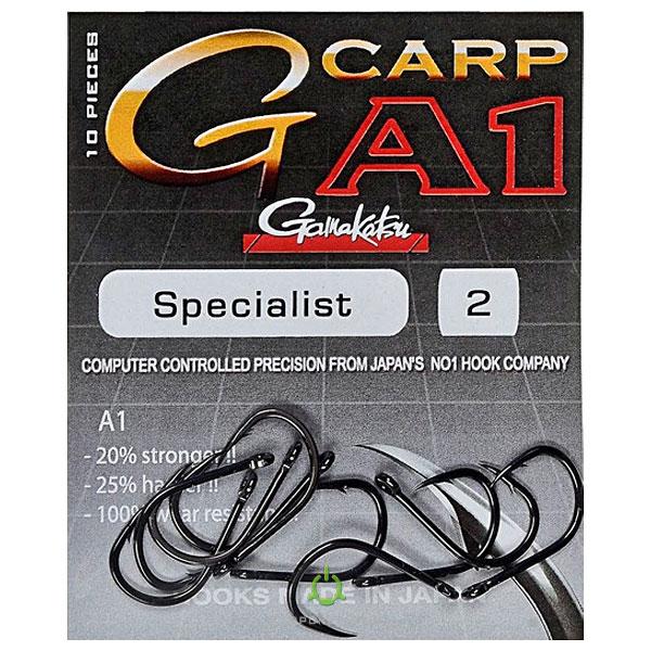 Крючки GAMAKATSU A1 G-Carp Specialist №2