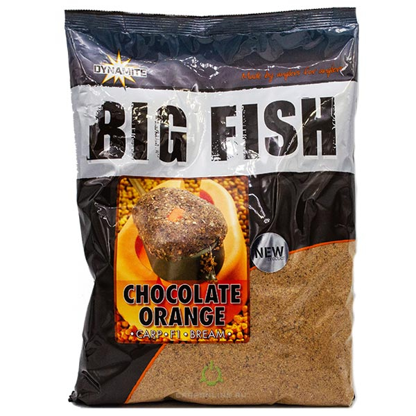 Прикормка Dynamite Baits Chocolate Orange Groundbait 1.8 кг.