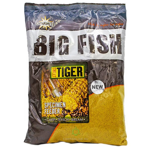 Прикормка Dynamite Baits Sweet Tiger Specimen Feeder Groundbait 1.8 кг.