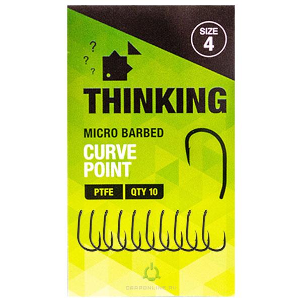 Крючок карповый Thinking Anglers Curve Point Hooks №4