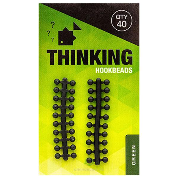 Бусина резиновая Thinking Anglers Hookbeads Green