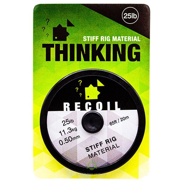 Жесткий поводковый материал Thinking Anglers Recoil Stiff Rig Material 25LB