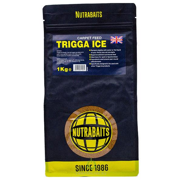 Прикормка Nutrabaits Trigga Ice Carpet Feed 1кг.