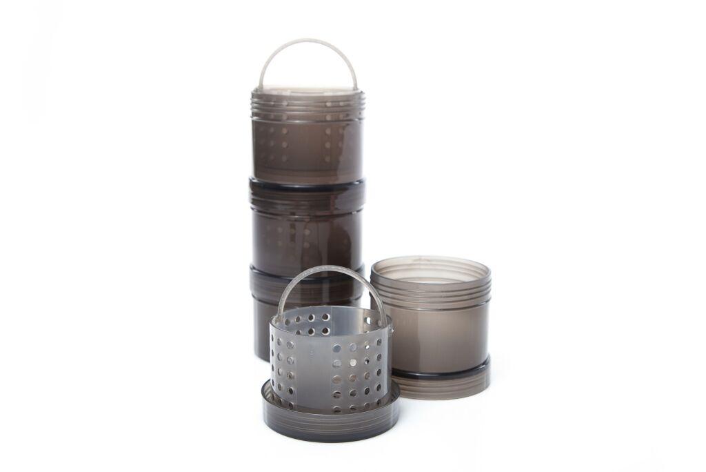 Набор баночек для насадок Ridge Monkey Modular Hookbait Pots Green