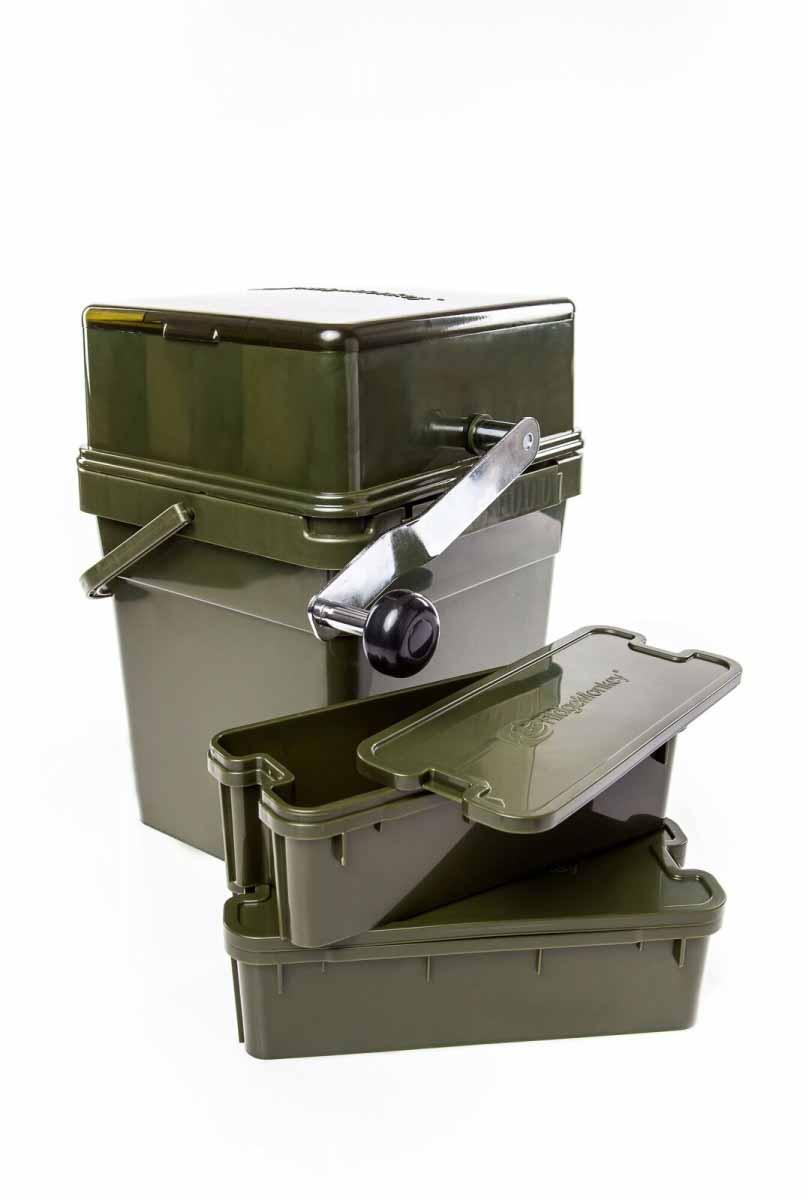 Ведро 17 литров с крушилкой для бойлов Ridge Monkey Advanced Boilie Crusher w/17 litre Modular Bucket
