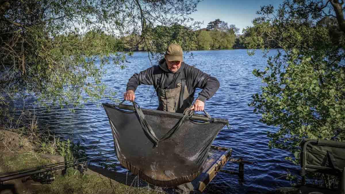 Сумка для взвешивания рыбы Avid Carp Retaining Sling