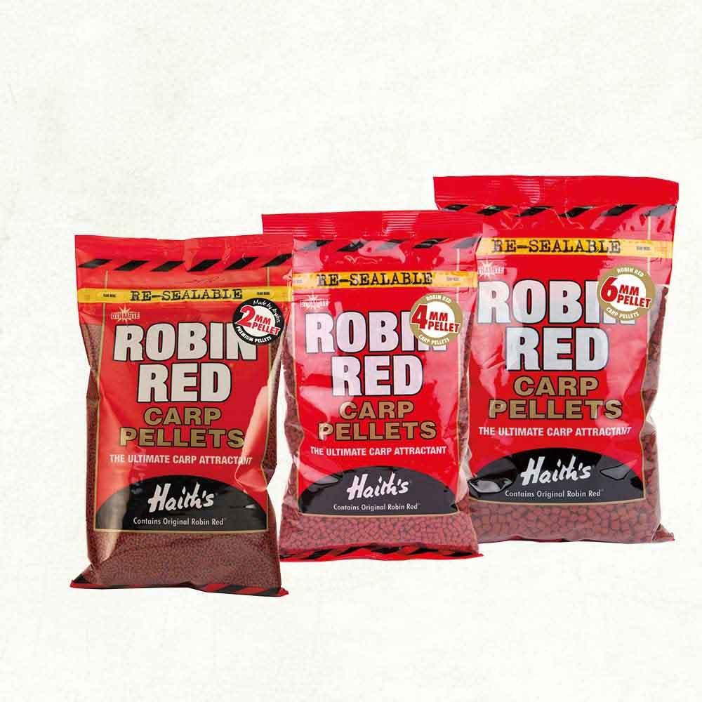 Пеллетс Dynamite Baits Robin Red 20 мм. 900 гр. (просверленный)